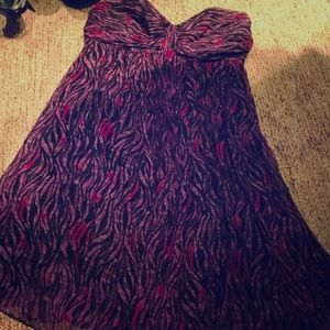 Super cute cocktail dress! Express - Size Small